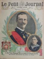 PETIT JOURNAL ILLUSTRE - 5-1-1919-ITALIE ROI VICTOR EMMANUEL III -PRINCE DE PIEMONT-FRNTIERE RHIN ALLEMAGNE - Historische Documenten