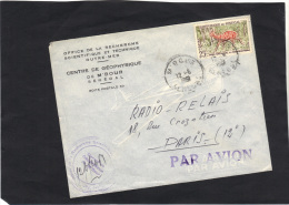 SENEGAL - Lettre Par Avion De  M'BOUR  1961 - Sénégal (1960-...)