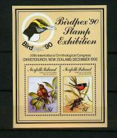 Norfolk Island1990,2V In Block,birds,vogels,vögel,oiseaux,MNH/Postfris, (E3624) - Oiseaux