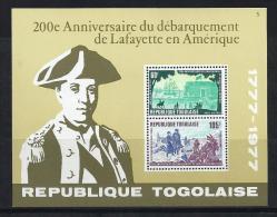 TOGO 1977 - Yvert #H111 - MNH ** - Togo (1960-...)