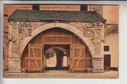 OBER-SCHLESIEN - BRIEG / BRZEG; Piastenschloss, Innere Ansicht Des Tores - Schlesien