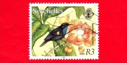 SEYCHELLES - USATO - 1993 - Uccelli - Colibri - R 3 - Seychelles (1976-...)