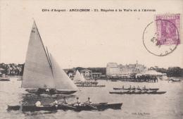 33 - ARCACHON / REGATES A LA VOILE ET A L'AVIRON - Arcachon
