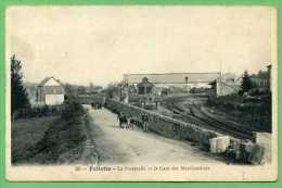 23 FELLETIN - La Passerelle Et La Gare Des Marchandises - Felletin
