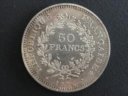 1978 - 50 Francs Argent Hercule - France
