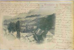 PONTARLIER (Doubs) - Souvenir De Pontarlier - Pontarlier