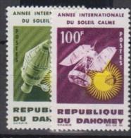 BENIN  DAHOMEY     1964     N°    216 / 217     COTE     2.75  €           ( 1719 ) - Bénin – Dahomey (1960-...)