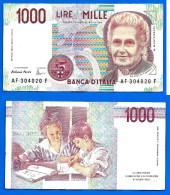 Italie 1000 Lire 1990 Signature Fazio & Amici Italy Italia Skrill Paypal Bitcoin OK! Uniquement Prix + Frais De Port - [ 2] 1946-… : République