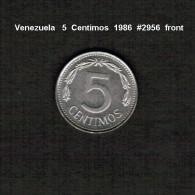 VENEZUELA    5  CENTIMOS  1986  (Y # 49b) - Venezuela