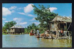RB 952 - Postcard - Viviendas Lacustres - Rio Limon - Maracaibo Venezuela - Venezuela