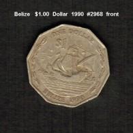 BELIZE    $1.00  DOLLAR  1990  (KM # 99) - Belize