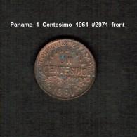 PANAMA     1  CENTESIMO  1961  (KM # 22) - Panama