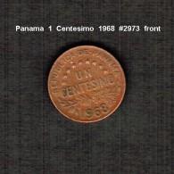 PANAMA     1  CENTESIMO  1968  (KM # 22) - Panama