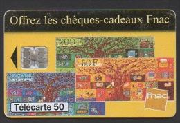 DF / FRANCE / 1997 / OFFREZ DES CHEQUES-CADEAUX FNAC - France
