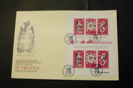 New HebridesFrench Elizabeth II Coronation 25th Anniversary Sheet Of 6 With Day Of Issue Cancel 1978 A04s - Saint Helena Island