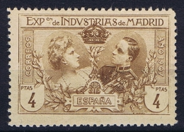 Spain: 1907, Mi A 1 F MNH/** - Nuevos