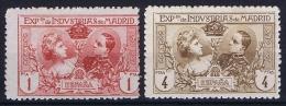 Spain: 1907, Mi A 1 F + F MH/*