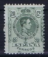 Spain: 1909, Mi 235 A MH/*