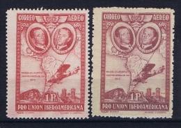 Spain: 1930  Mi 560 A + B MH/*, - Nuevos & Fijasellos