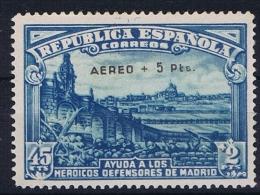 Spain: 1938  Mi 711  MH/*, SIGNED ! - Ungebraucht