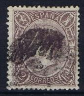Spain: 1865 Michel Nr 72 A Violett Used - 1850-68 Reino: Isabel II