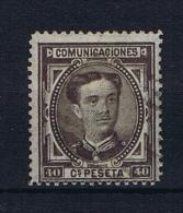 Spain: 1876 Michel Nr 160  Used - 1875-1882 Kingdom: Alphonse XII