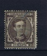 Spain: 1876 Michel Nr 160  Used SIGNED - 1875-1882 Kingdom: Alphonse XII