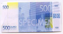 """500 € Billet   Promotion   """"AFIBEL""""   2013 Petit Format UNC - Unclassified"""