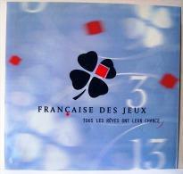 PUBLICITE FDJ FRANCAISE DES JEUX AFFICHETTE 30X28cm SAGA STAR WARS  LOTERIE NATIONALE GRATTAGE LOTO ASTRO BANCO BINGO... - Publicités