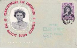 SIERRA LEONE  1953 COMMEMORATNG THE CORONATION QE II FDC - Sierra Leone (...-1960)