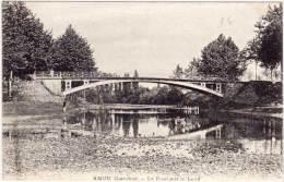 AMOU - Le Pont Sur Le Leny  (62007) - France