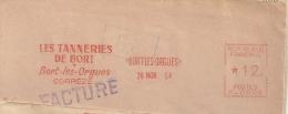 Cuir, Tannage, Corrèze, Bort Les Orgues - EMA  Havas -  Fragment 13 X 5,5 Cm    (M591) - Cows