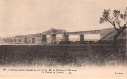 Ligne De Chemin De Fer De L´Estaque à Miramas - Viaduc De Caronte - Ohne Zuordnung