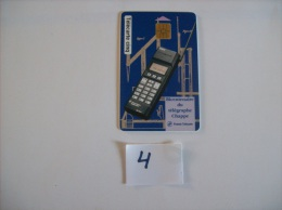 CARTES   Telecard  5 U - Bicentenaire Du Telegraphe Chappe - Tirage 35000 Ex   .- Voir Photo ( 4   ) - Privat