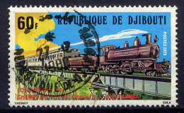 DJIBOUTI - N° 493° - LOCOMOTIVE 130 - Gibuti (1977-...)