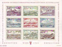 1160l: Austria Different Prints, Small Collection - 1961-70 Briefe U. Dokumente