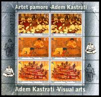REPUBLIC OF KOSOVO 2013 Adem Kastrati - Visual Arts, Sheetlet** - Kosovo