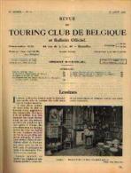 Dans « Touring  Club De Belgique» 15/08/1937 : « LESSINES » - Belgien