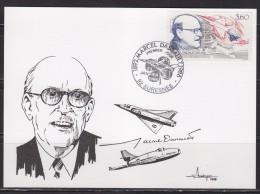= 1892-1986 Marcel Dassault 92 Suresnes Premier Jour 23.1.88 Portrait Et Avions - 1980-1989