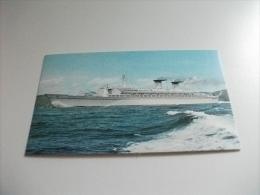 NAVE SHIP ENVIAR   ITALIA NAVIGAZIONE GENOVA  TRANSATLANTICO RAFFAELLO - Dampfer