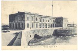 LIVORNO    ----   R.  Accademia  Navale  -  Fabbricato  Stazione  R.  T. - Livorno