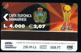 07 - SAN MARINO - TESSERA TELEFONICA NO. 39  NUOVA - San Marino