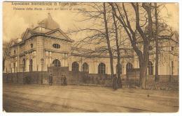 Esposizione Internazionale Di Torino 1911 --  Palazzo Della Moda - Stato Dei Lavori Al 20 Marzo - Expositions