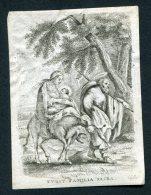 """Image Pieuse Non Canivet  1817 Amsterdam """"fuite Sainte Famille"""" - Devotion Images"""