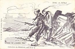 CPA - Militaire - Militaria - Dans La Rafale - Vous Ne L'aurez Pas - Phoscao - 8 - Heimat
