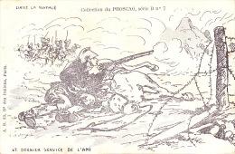 CPA - Militaire - Militaria - Dans La Rafale - Le Dernier Service De L'ami - Phoscao - 7 - Heimat