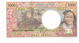 """Polynésie Française / Tahiti - 1000 FCFP - """"NOUVEAUTE"""" / H.053 / 2013 / Signatures Noyer/de Seze/La Cognata - Neuf / UNC - Papeete (Polynésie Française 1914-1985)"""