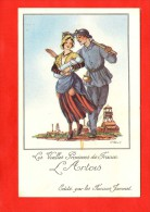 1181 - Les Vieilles Provinces De France - L´Artois   - Illustration Jean Droit -  Edit   Farines Jammet - (recto-verso) - Illustratori & Fotografie