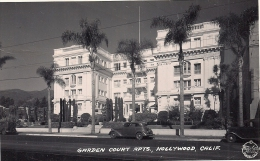 GARDEN COURT APTS, HOLLYWOOD, CALIF. - Los Angeles