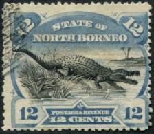 Pays :  70,1 (Borneo Du Nord : Etat)  Yvert Et Tellier N° :   58 (o) - North Borneo (...-1963)